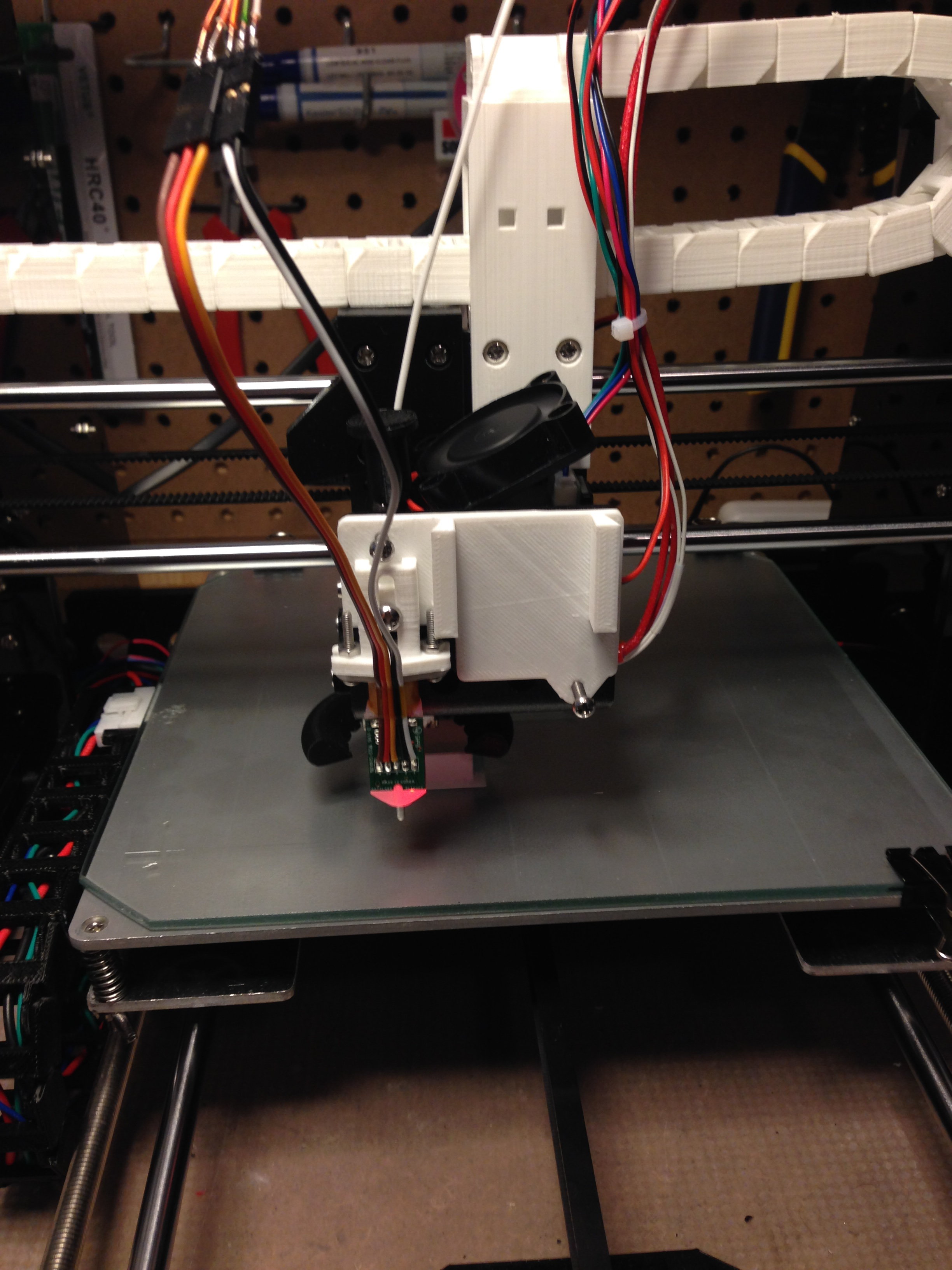 Anet A8 Front Plate And Bltouch Mount By Marcbea Thingiverse