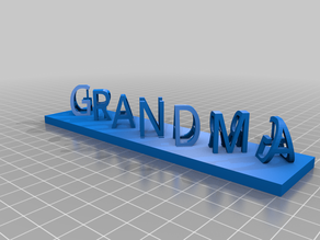 Grandma Grandpa Word Illusion (With and without supports)