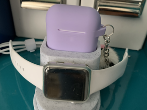 AirPod and Apple Watch Charger Stand
