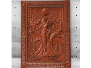 Mara - Slavic Evil Goddess, Witcher (FOR CNC)