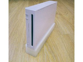 Wii vertical stand