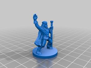 HeroQuest Wizard Repaired