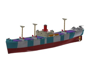 Liberty Ship (RC) - Revision 5