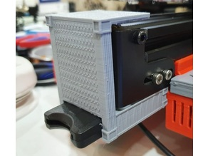 Ender 3 Pro SD Card Mount with Y-axis Pulley Cover