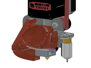 eB fan shroud BL Touch Mount - Creality Ender-3/CR-10 + Source