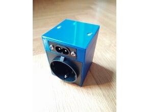 Socket Enclosure for ESP8266 Moes QS-WiFi-D01 150W Dimmer