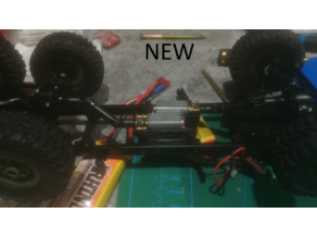 Dual N40 motor mount for WPL B16 B36 1/16 6x6