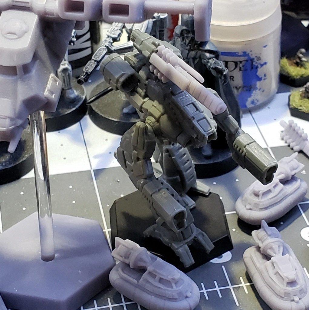 Marauder Gauss barrel replacement for FightTech