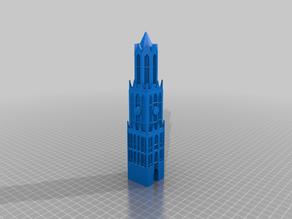 Dom toren Utrecht als tap hendel.