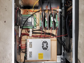 Novusun and TB6600 Wiring and Enclusure Guidance