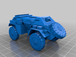 Humber Armoured Car 28mm / 1:56
