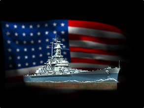 Warship - BB-59 Massachusetts (1/10)