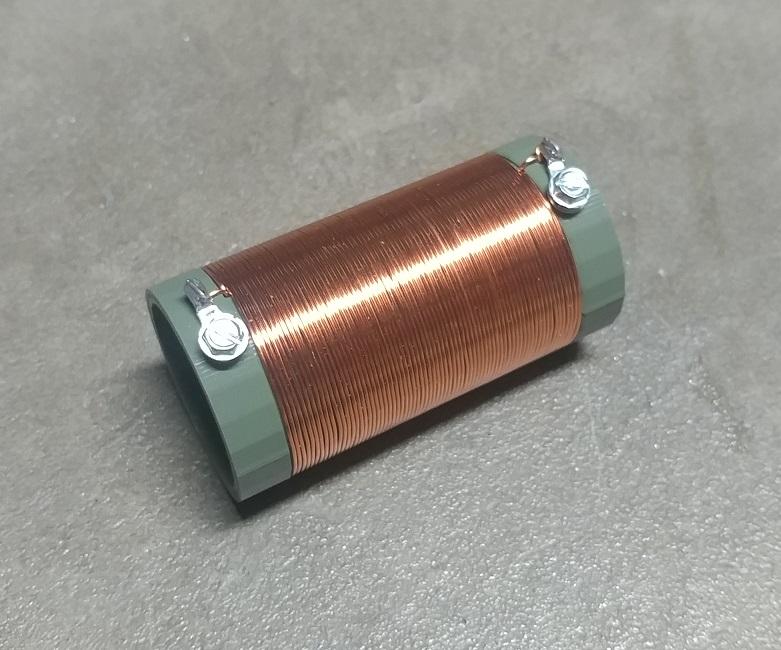 110uH Loading Coil Form for Short EFHW Antenna