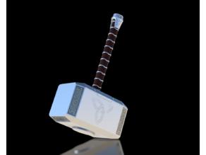 Thor's Hammer (Mjolnir) Full Sized- New Design