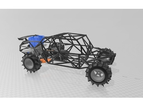 Rc sand car roll-cage only (Open source)