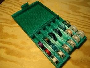 Sewing machine bobbin box / коробка для шпулек