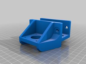 Hypercube z motor mount and lead nut bracket