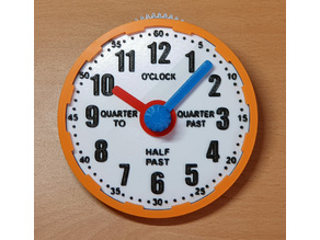 Geared Learning Clock