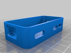 R Pi Zero + Adafruit OLED Bonnet Case