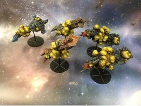 Battlefleet Gothic Space Hulks (destroyed cap ships)