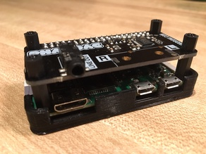 Case for Pimoroni pHat DAC and PiZeroW