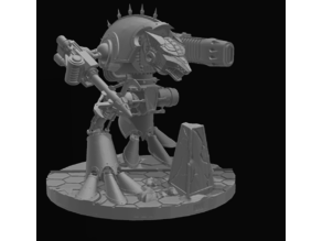 Armorcast style Wardog Titan AT scale (w/ Weapons!)