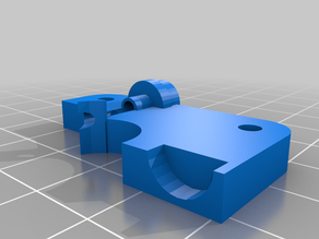 MPMD Extruder Top for flexible filaments