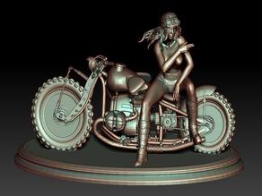 Biker Girl 5