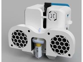 DUAL 5015 Fan duct FULL Sidewinder X1/genius +BLtouch +BFPtouch mounts