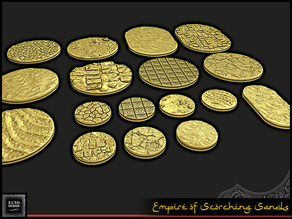 Empire of Scorching Sands - Round Bases