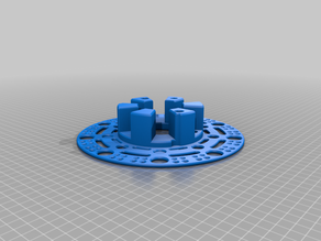 Spool core with sides for Eco refill