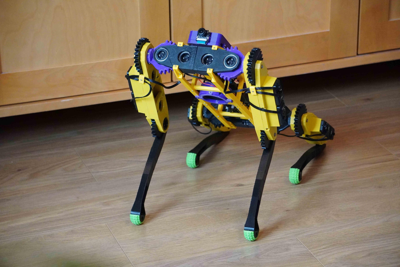 Quadruped robot V2.0