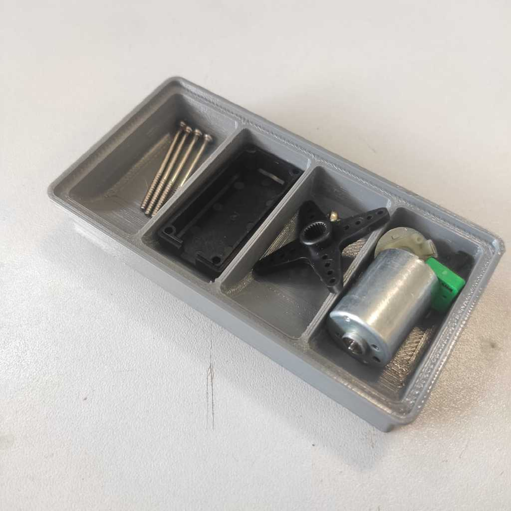 Separador de parafuso  (screw organizer)