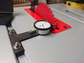 T-Nut table saw measurment gauge holder Bosch GTS 635-216
