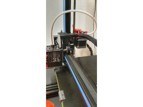 Geeetech A10 / Hellbot Magna I hotend cable support
