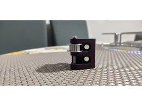 New 2GT Idler Timing Pulley Bearing 20T 2//3//5mm Bore For 3D Printer Belt Reprap