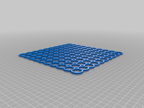 Rings in pattern