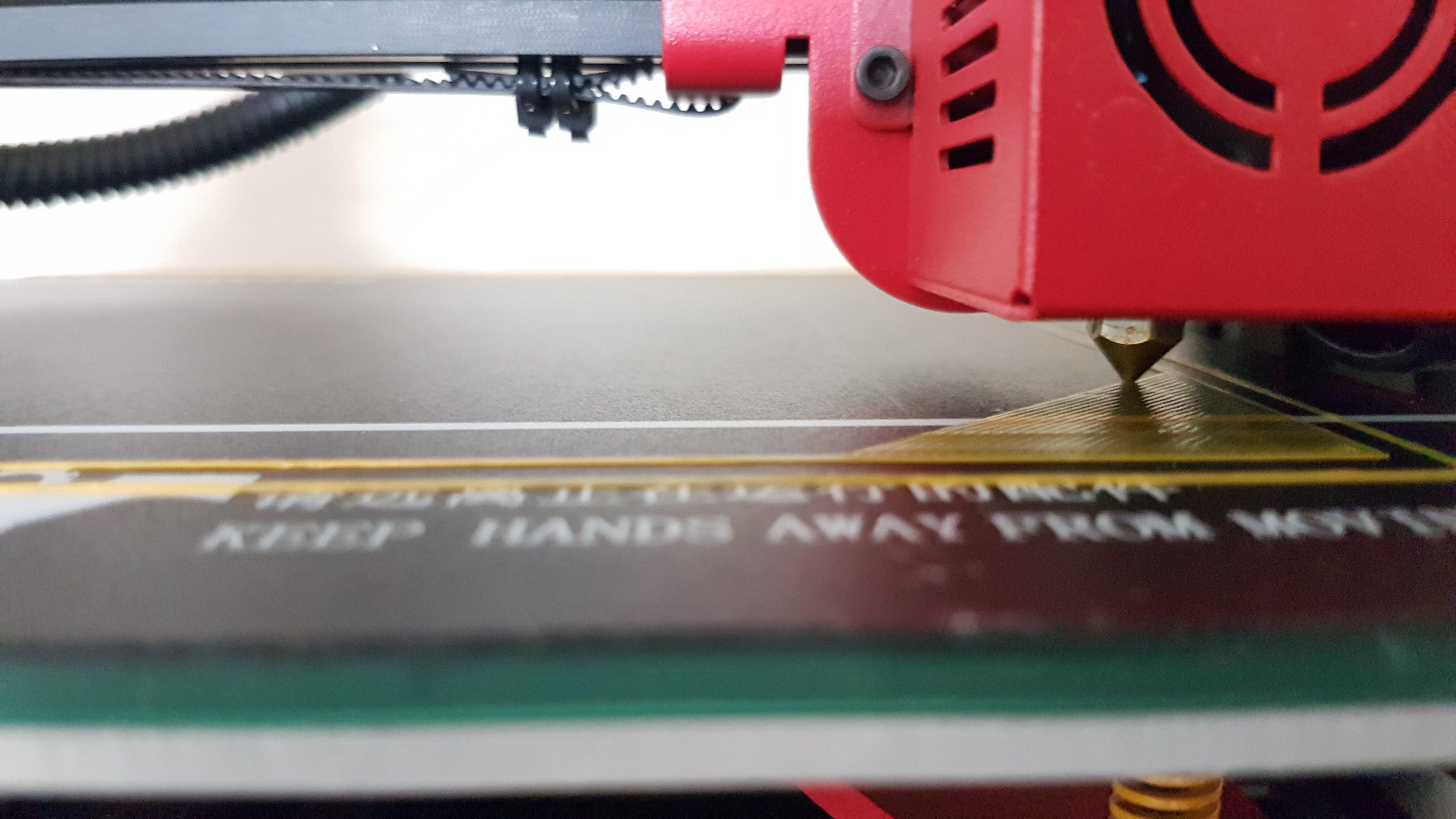Ender 3 / Alfawise U30 Bed leveling