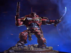 Jazza's Warhammer 40k Space Marine Sculpture