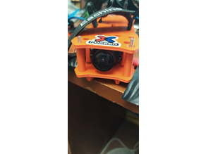 reducing the size of the peon 230 copter and mount for the fpv camera