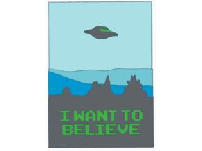 I Want to Believe Logo HD