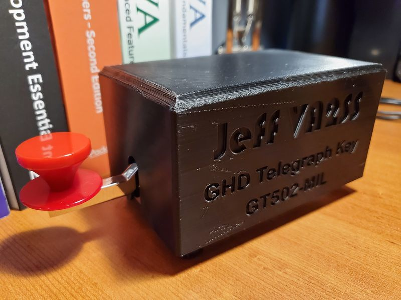 Morse Straight Key GHD GT502-MIL