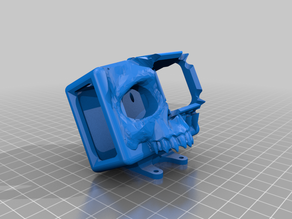 GoPro Hero 5 6 7 Skull Mount - ImpulseRC Apex - 25 Degree