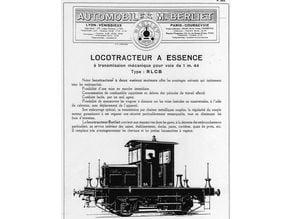 Locomotive Locotracteur BERLIET - Shunter BERLIET HO Scale