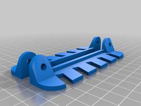 My Customized Wrench Rack x5