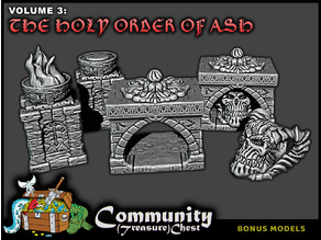 Religious Relics and Brazier - 28mm