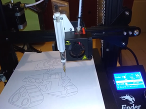 Use the 3d printer as a plotter