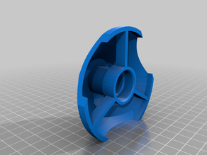 Spool holder with bearings (up to 75mm holes)