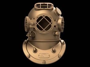 Diving helmet (wearable)