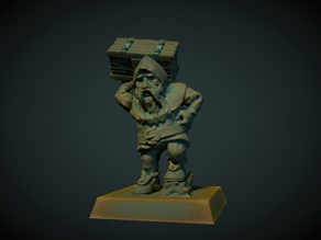 Dwarf porter 28mm (no supports needed)